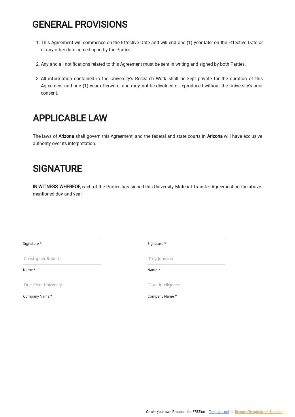 University Material Transfer Agreement Template  2.jpe