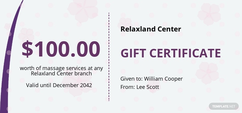 Free Massage Gift Certificate Template.jpe