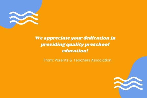Preschool Teacher Appreciation Card Template 1.jpe
