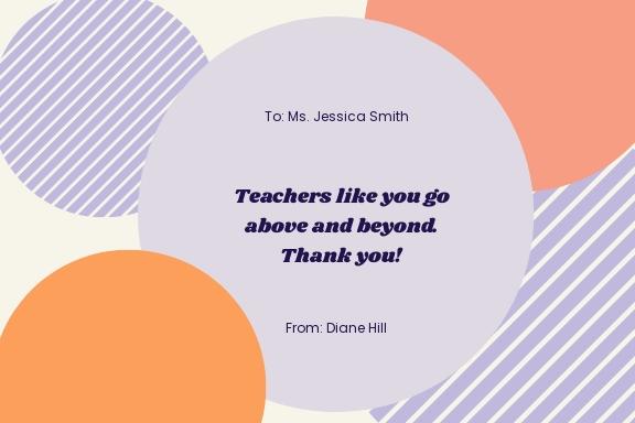 Free Creative Teacher Appreciation Card Template 1.jpe
