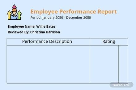 Employee Performance Report Card Template.jpe