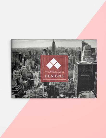 Free Architecture Brochure Landscape Template