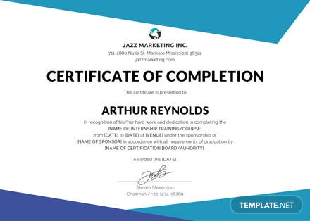 Free Course Completion Certificate Template: Download 200+ ...