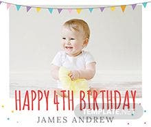 Birthday Photo Book Cover Template