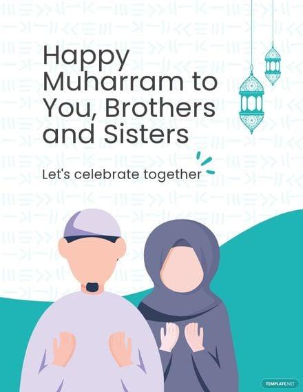Happy Muharram Flyer Template.jpe