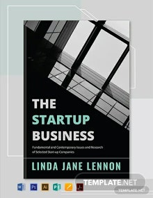 Free Business Book Cover Template