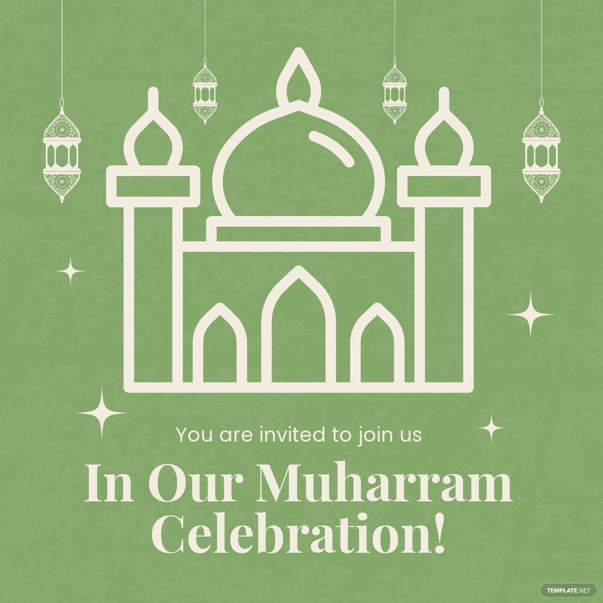 Muharram Celebration Instagram Post Template.jpe