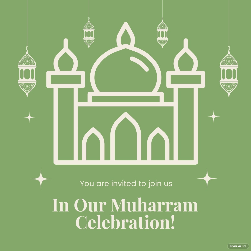 Muharram Celebration Linkedin Post Template.jpe