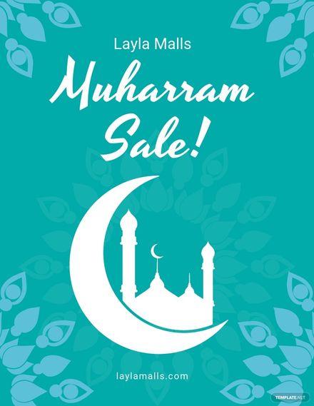 Muharram Sale Flyer Template.jpe