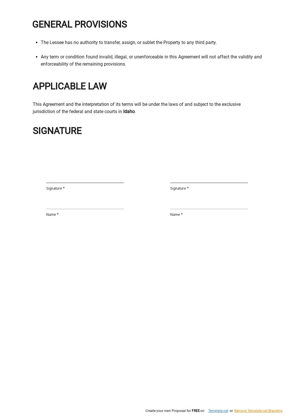 Simple Vacation Rental Agreement Template 2.jpe