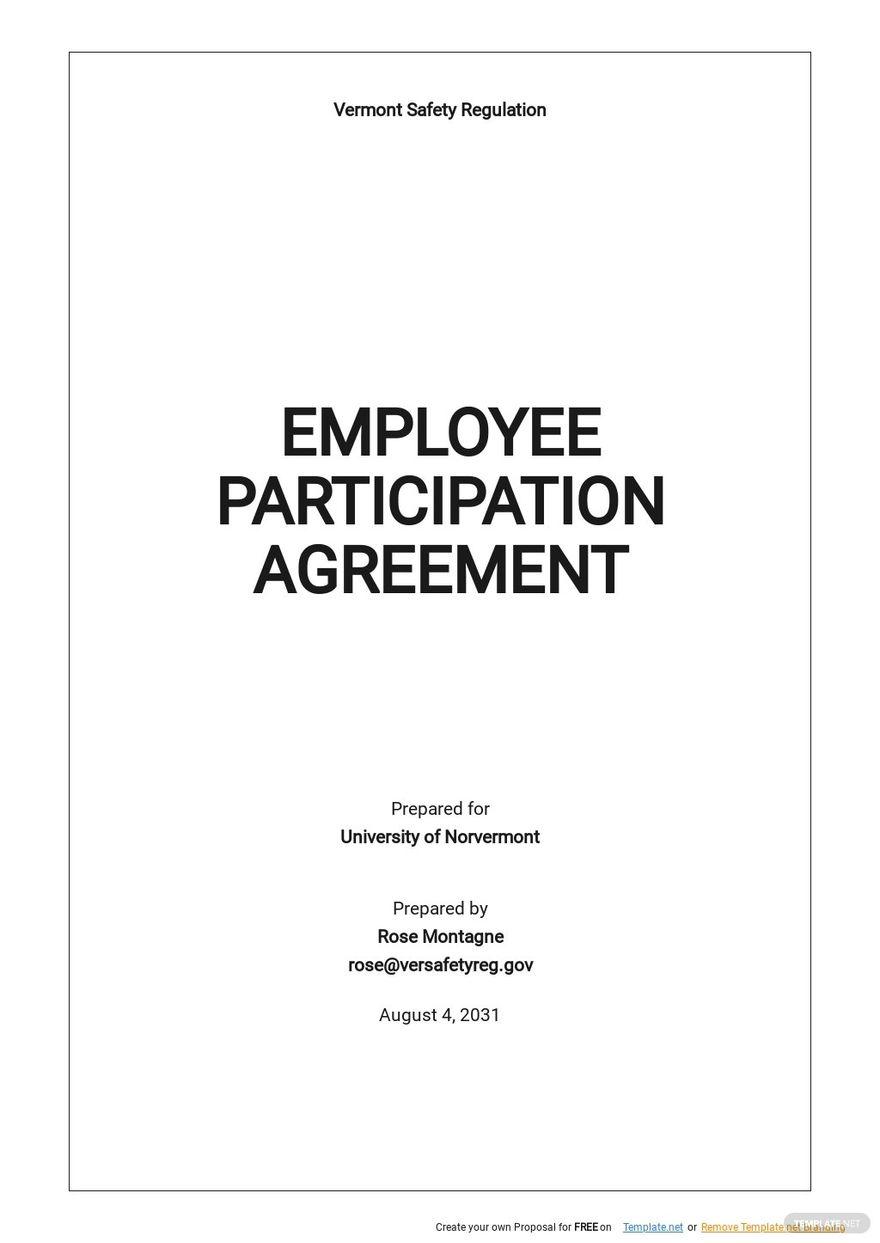 Employee Participation Agreement Template.jpe