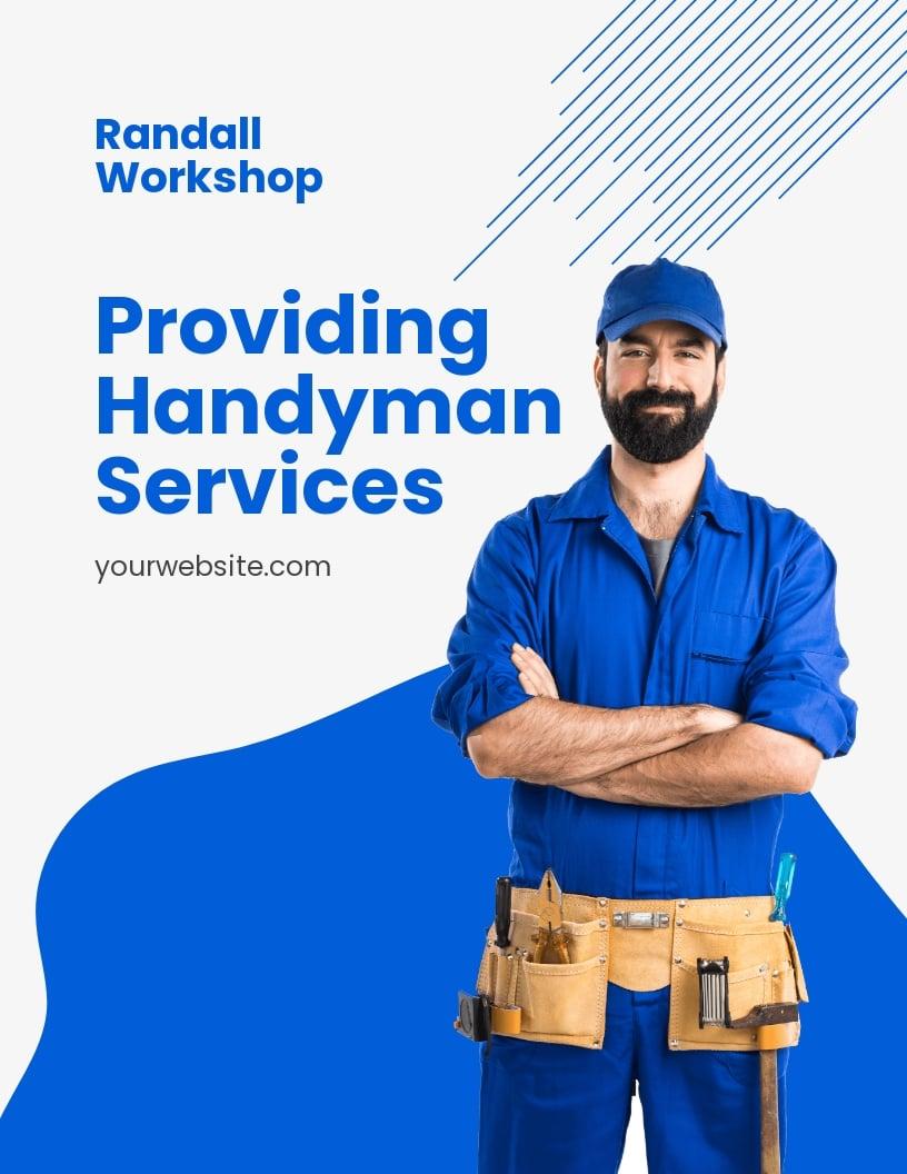 Professional Handyman Services Flyer Template.jpe