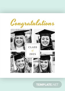 Free Graduation Photo Book Cover Template