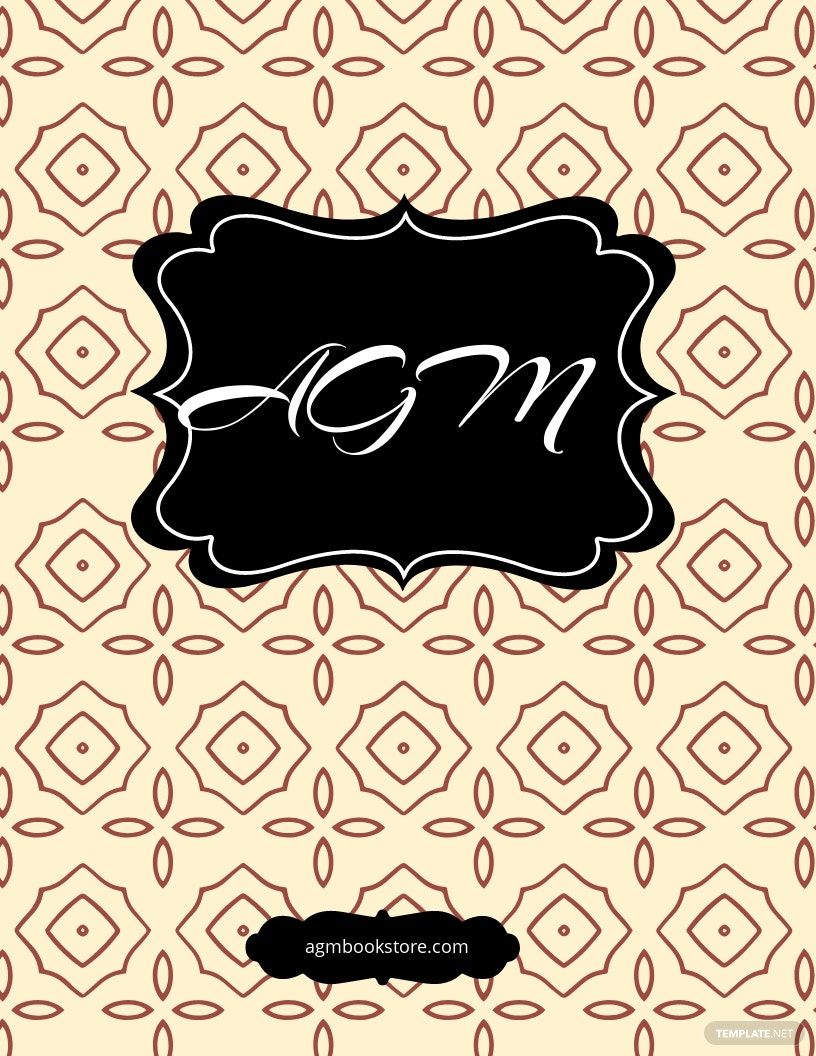Novel Book Cover Template
