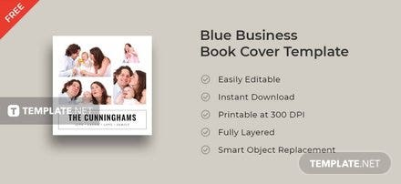 Free Photo Collage Book Cover Template