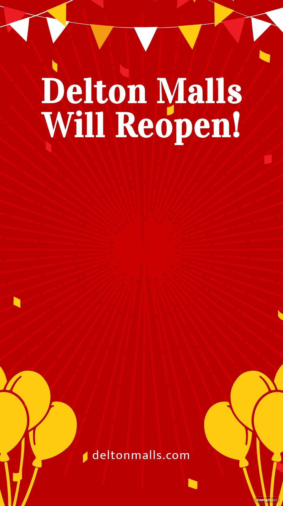 Reopening Advertisement Snapchat Geofilter Template.jpe