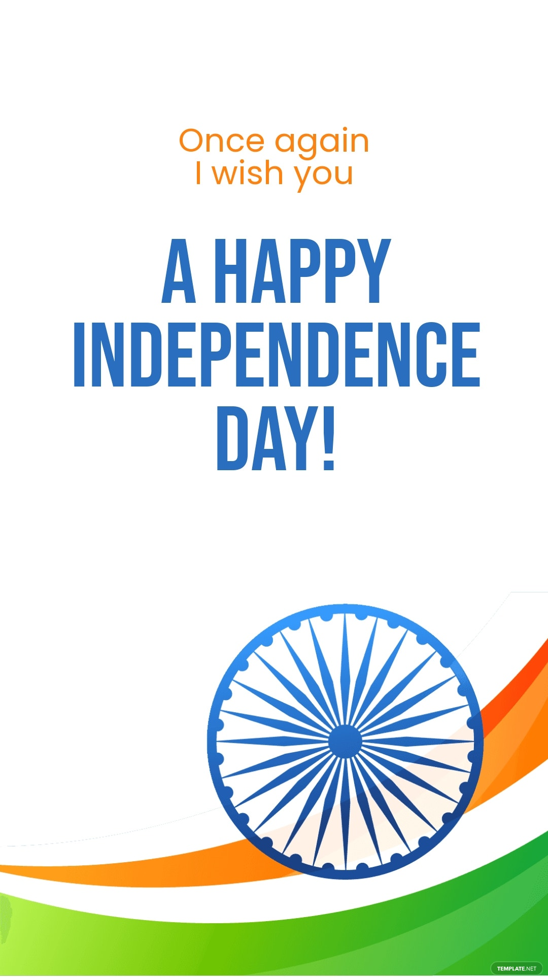 Happy Indian Independence Day Instagram Story Template 4.jpe