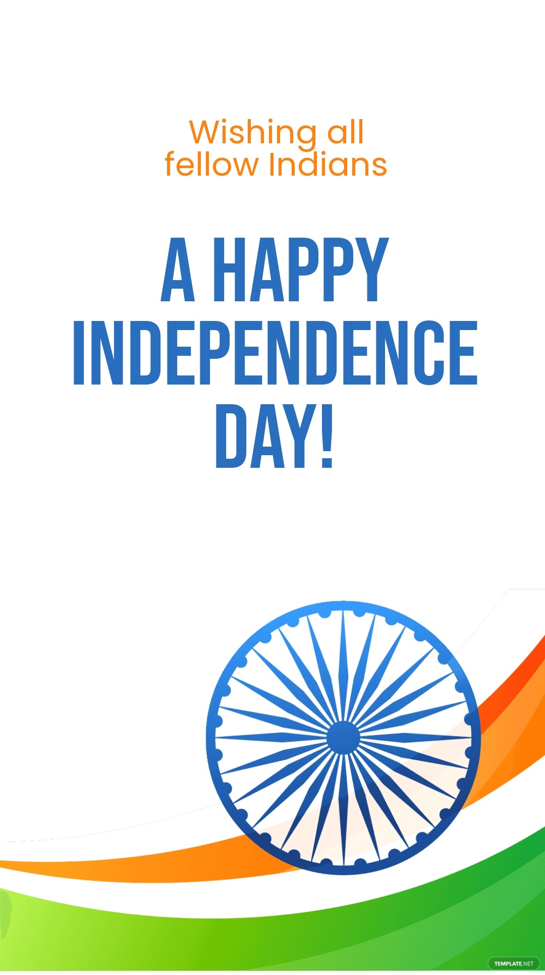 Happy Indian Independence Day Instagram Story Template.jpe
