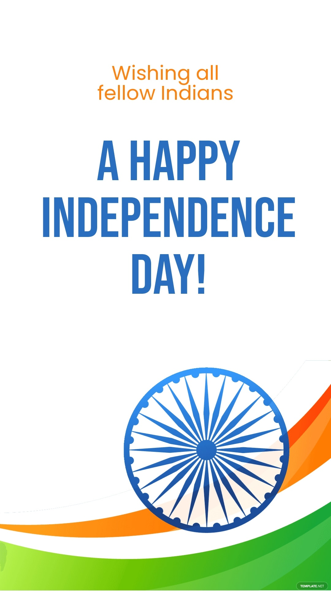 Happy Indian Independence Day Whatsapp Post Template.jpe