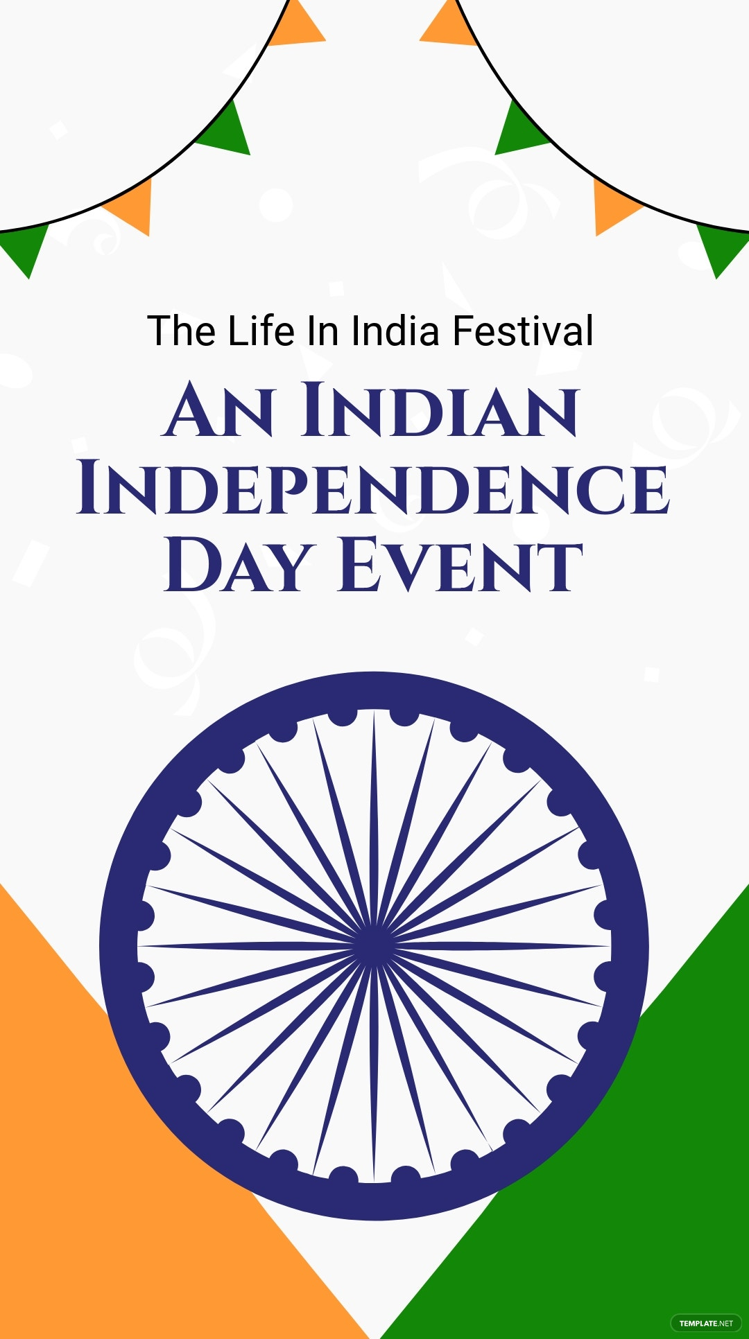Indian Independence Day Event Instagram Story Template.jpe