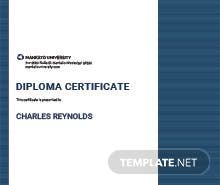 Free civil diploma certificate template in psd ms word publisher free mechanical diploma certificate template yadclub Images