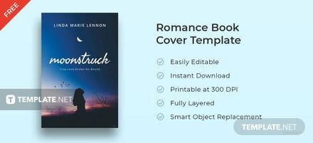Free Romance Book Cover Template