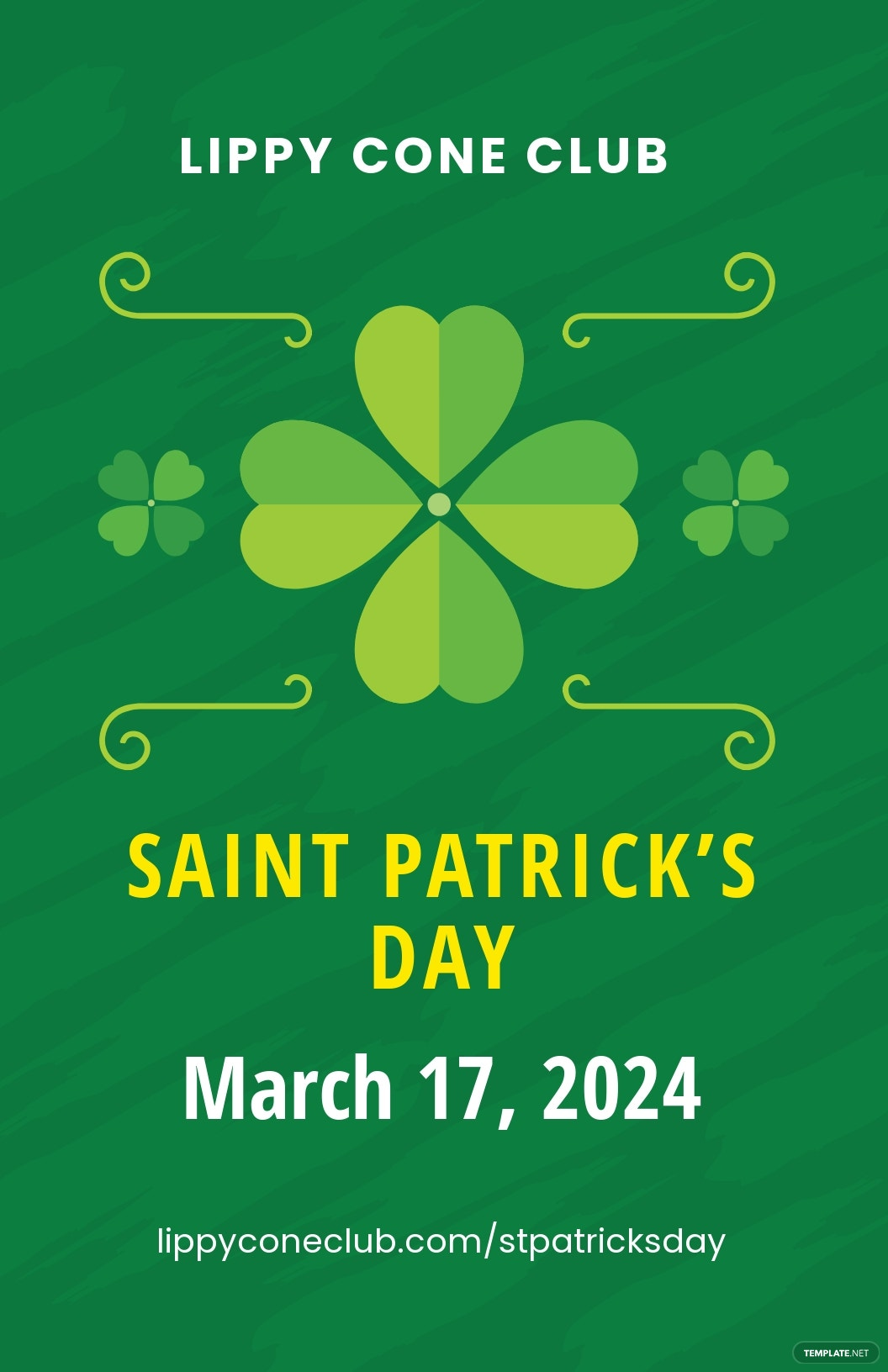 Free St Patrick's Day Poster Template.jpe