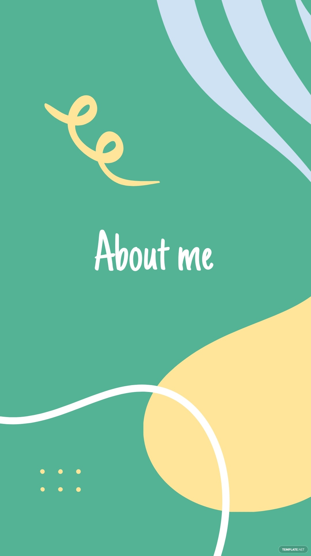 Get To Know Me Introduction Instagram Story Template 2.jpe