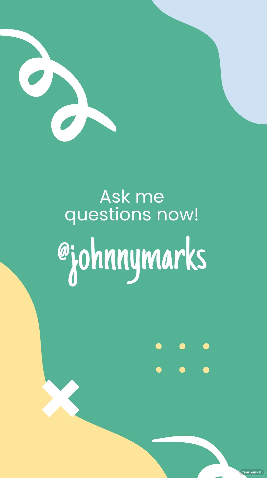 Get To Know Me Introduction Instagram Story Template 4.jpe