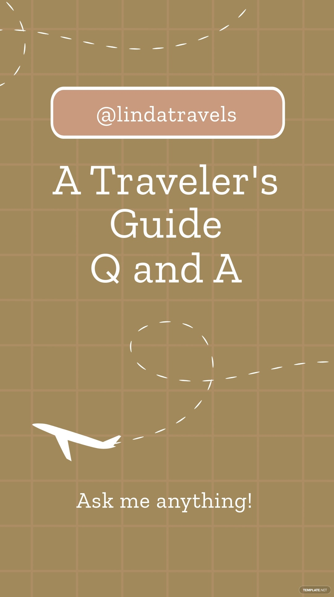 Ask Anything Travel Instagram Story Template.jpe