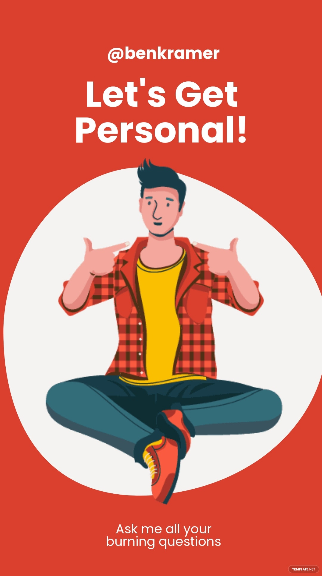Personal Ask Me Instagram Story Template.jpe