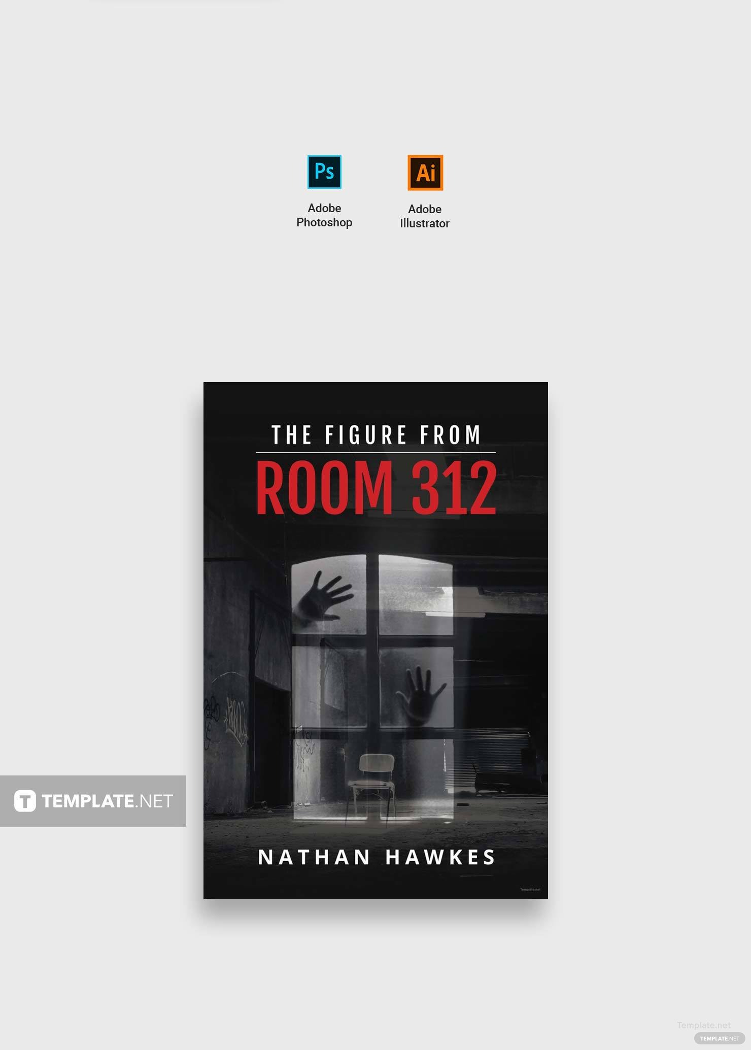 Free Thriller Book Cover Template in Adobe Photoshop, Illustrator ...