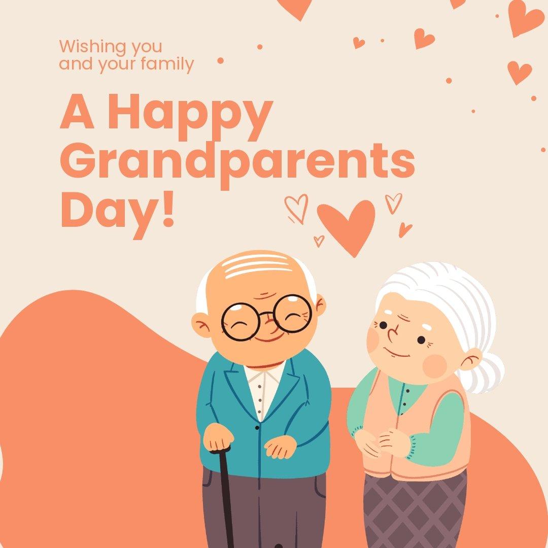 Happy Grandparents Day Instagram Post Template.jpe