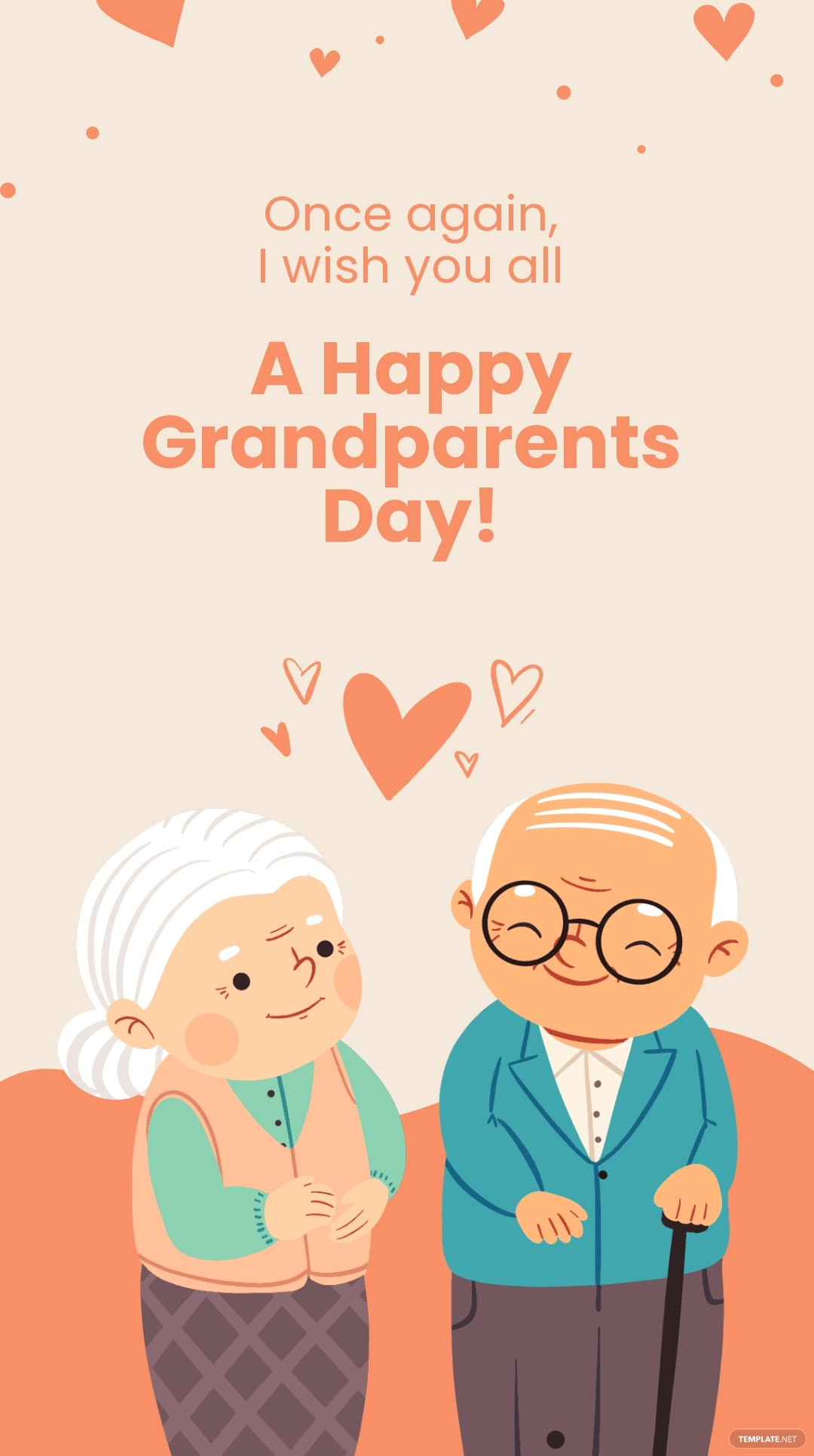 Happy Grandparents Day Instagram Story Template 4.jpe