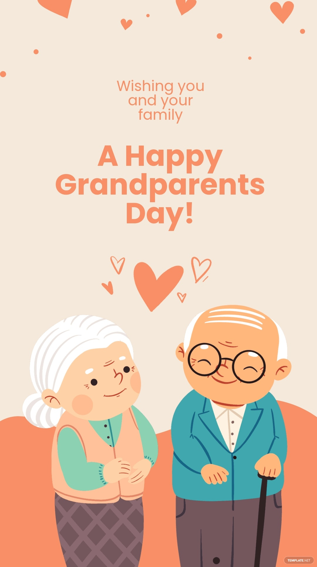 Happy Grandparents Day Instagram Story Template.jpe