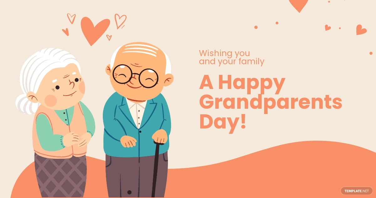 Happy Grandparents Day Facebook Post Template.jpe