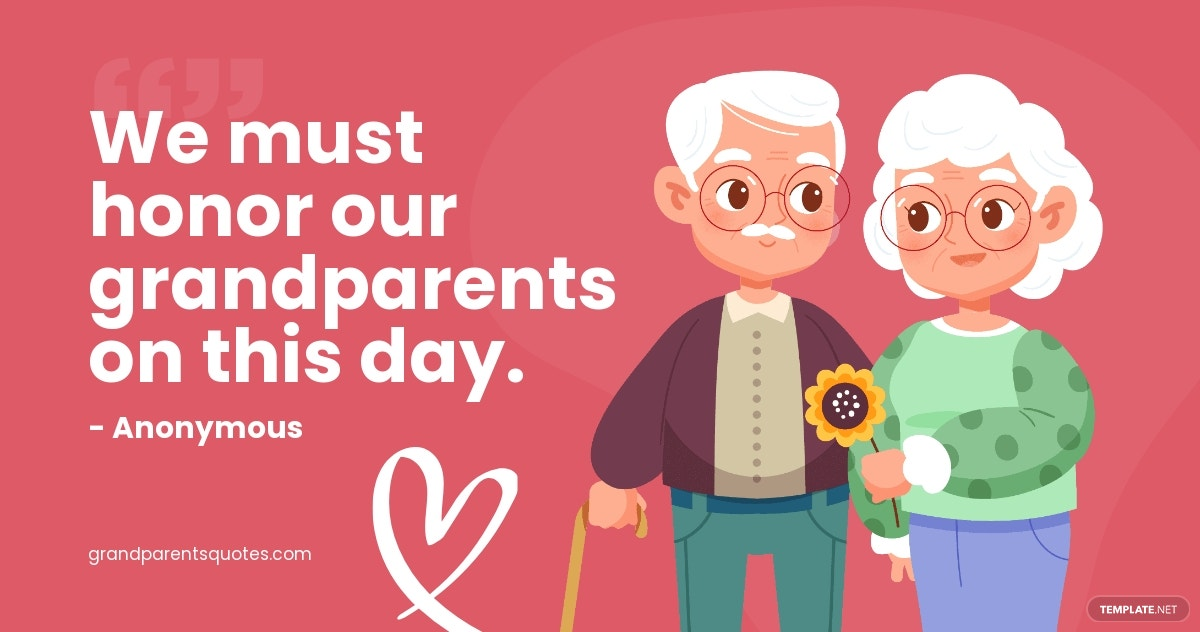Grandparents Day Quote Facebook Post Template.jpe