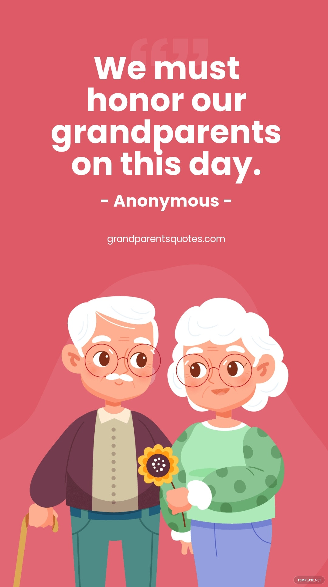 Grandparents Day Quote Instagram Story Template.jpe