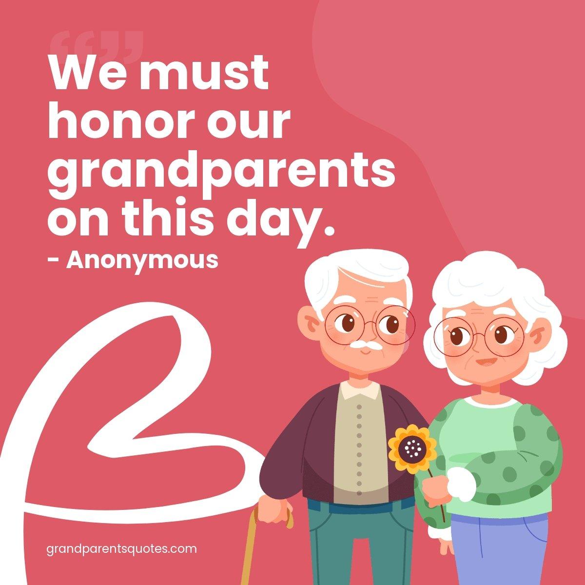 Grandparents Day Quote Linkedin Post Template.jpe