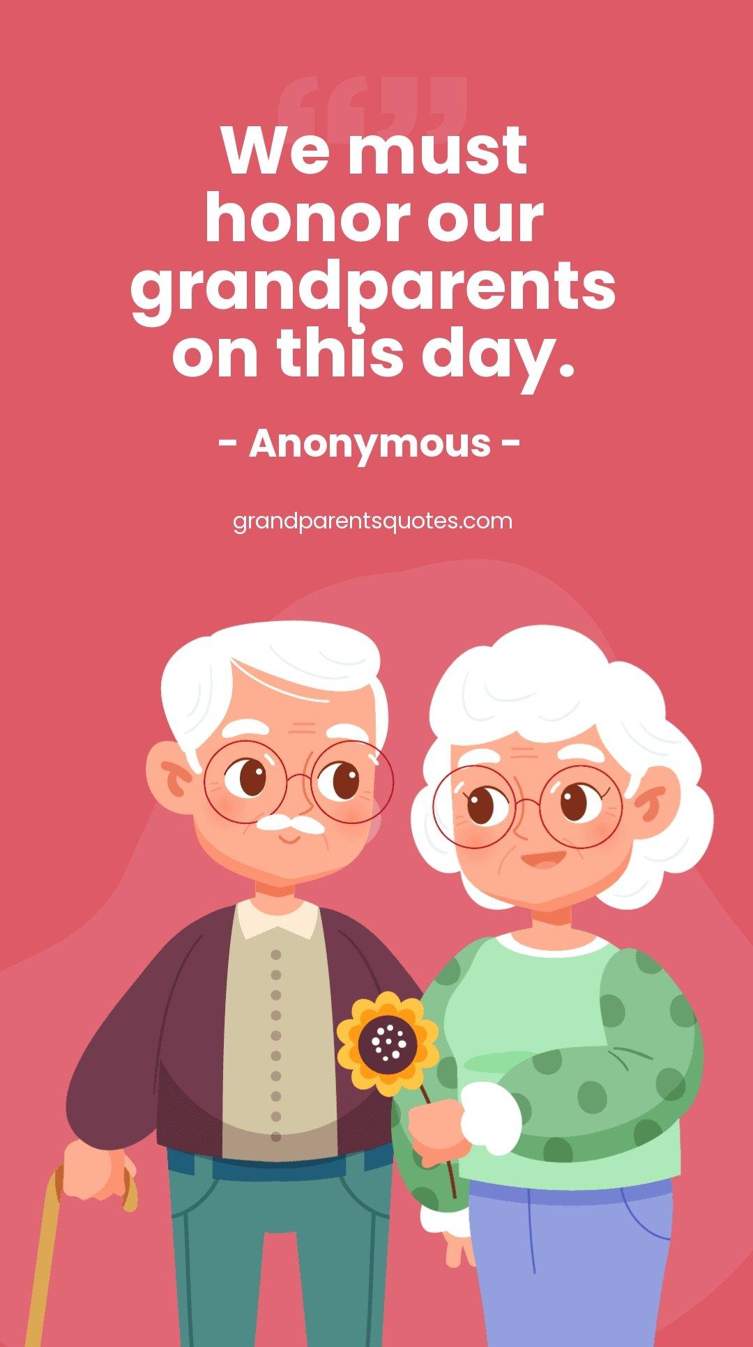 Grandparents Day Quote Whatsapp Post Template.jpe