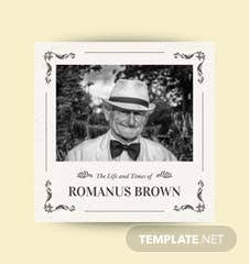 Free Vintage Photobook Cover Template