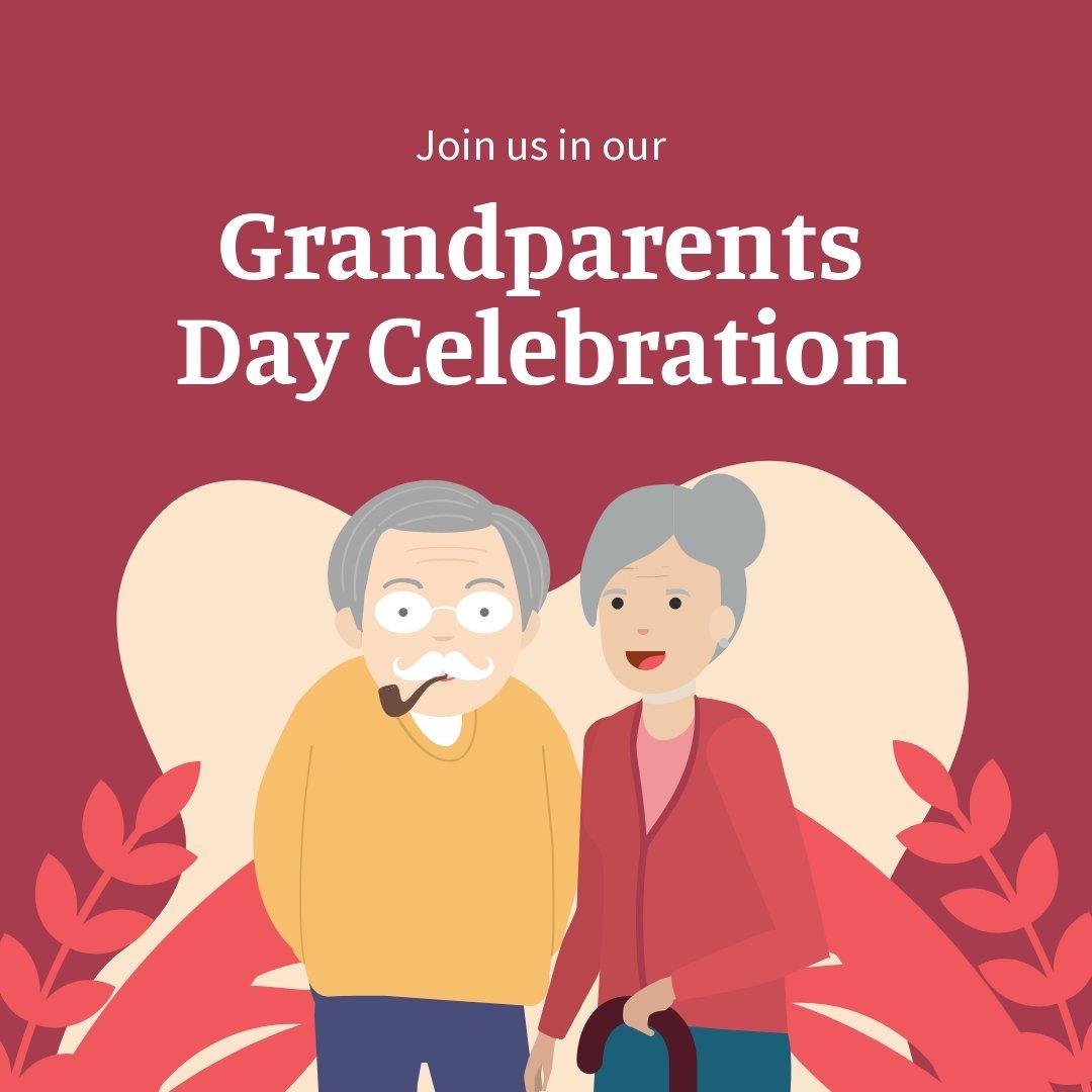 Grandparents Day Invitation Instagram Post Template.jpe