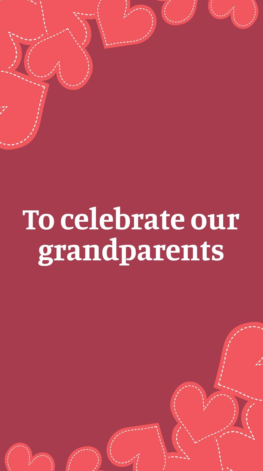 Grandparents Day Invitation Instagram Story Template 2.jpe