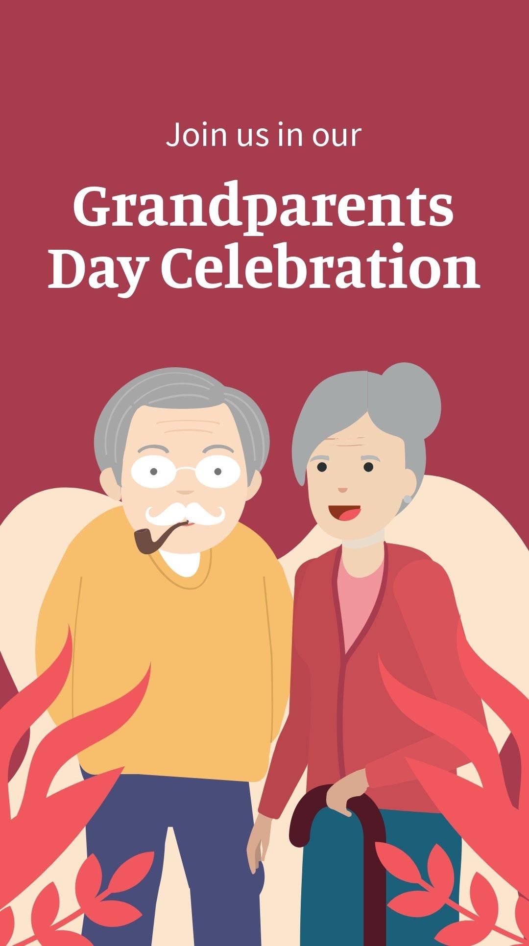 Grandparents Day Invitation Instagram Story Template.jpe