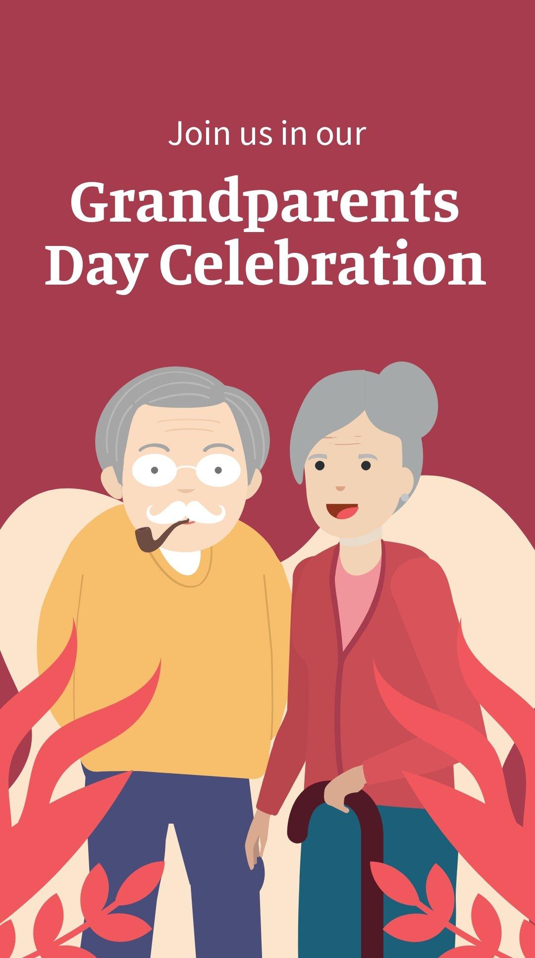 Grandparents Day Invitation Whatsapp Post Template.jpe