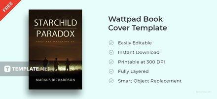Free Wattpad Book Cover Template