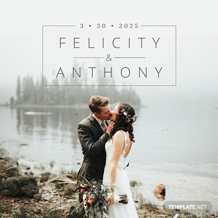Free Wedding Photobook Cover Template