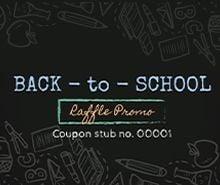 School Raffle Ticket Template