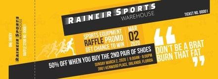 free sports raffle ticket template in adobe photoshop microsoft