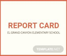 Free Middle School Report Card Template in Microsoft Word, Microsoft ...